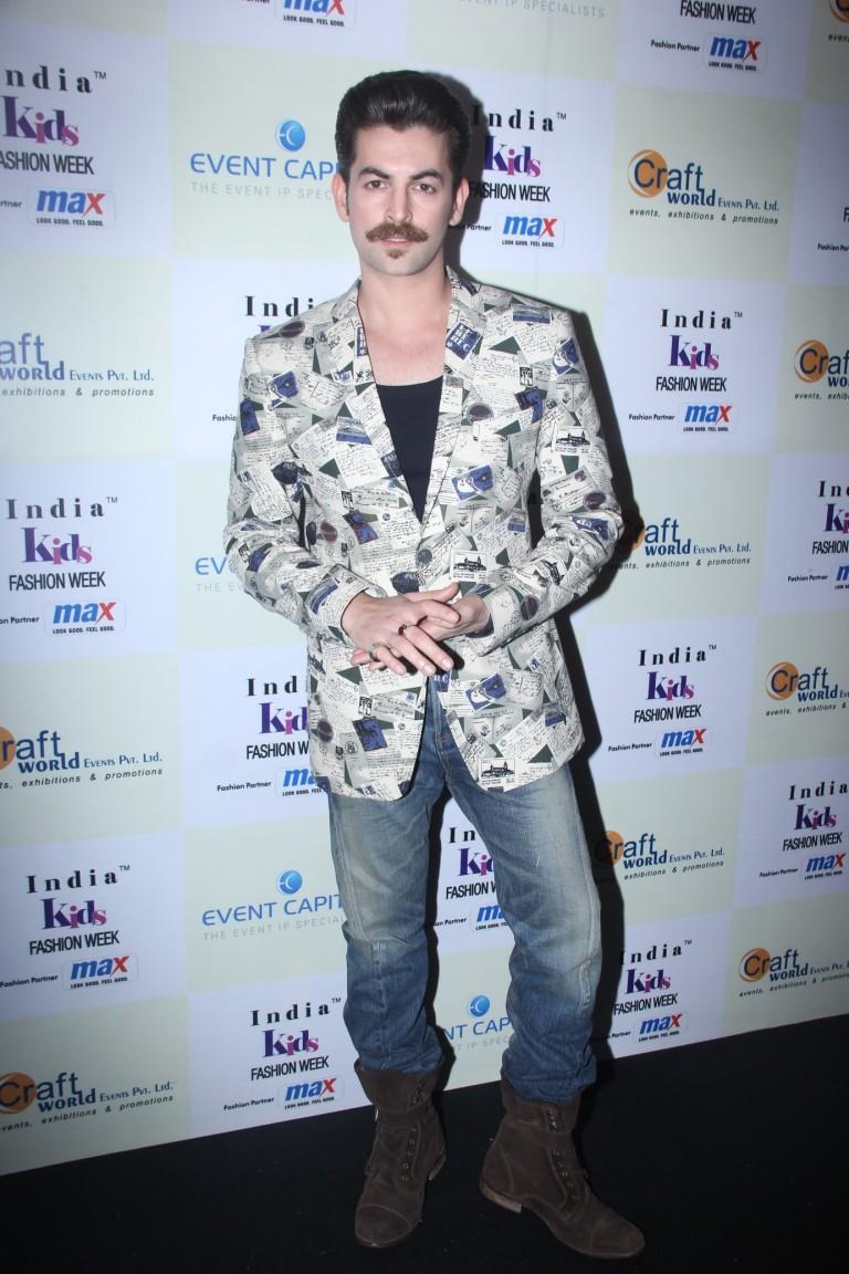 Neil Nitin Mukesh  at Day 2 of India Kids Fashion Week