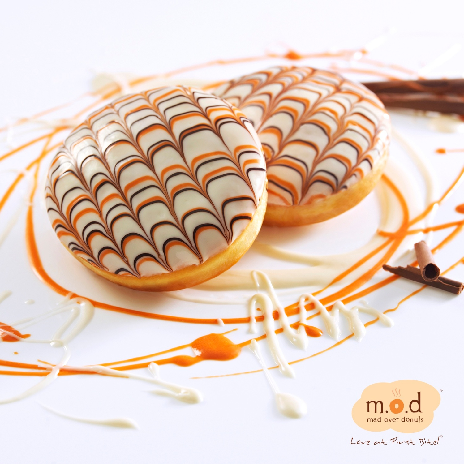 Orange Obsession by Mad Over Donuts