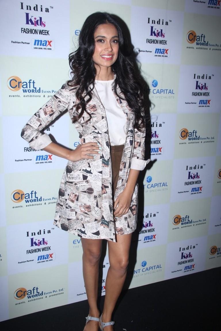Sarah Jane Dias  at Day 2 of India Kids Fashion Week