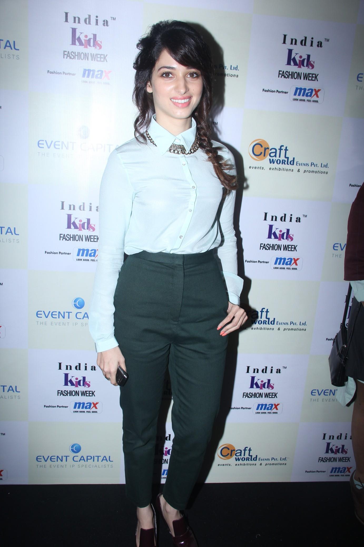 Tammannah at  India Kids Fashion Week