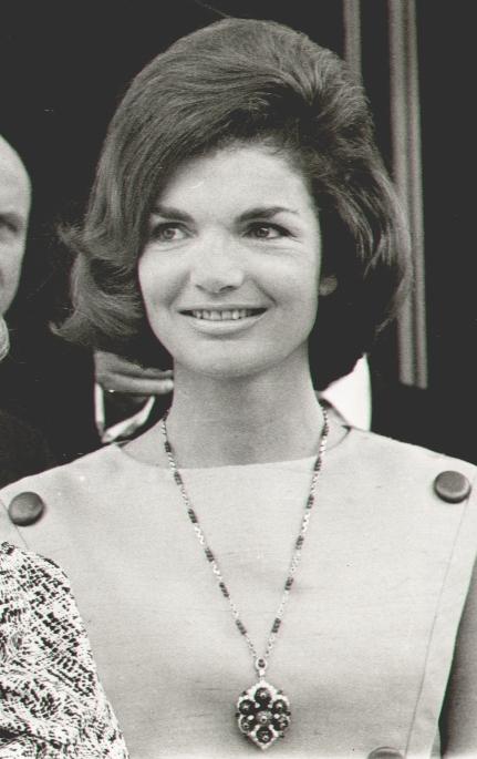 Jackie Kennedy in her famous bouffants