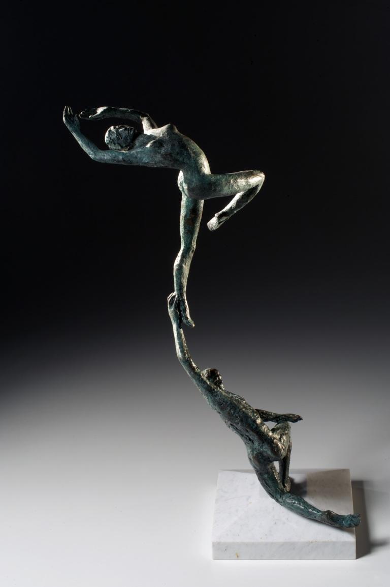 KUNDALINI 2007 - Bronze and Marble