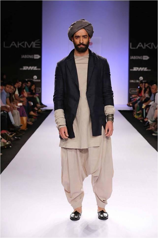 Chandni Mohan's Collection at Lakmé Fashion Week Summer/Resort 2014