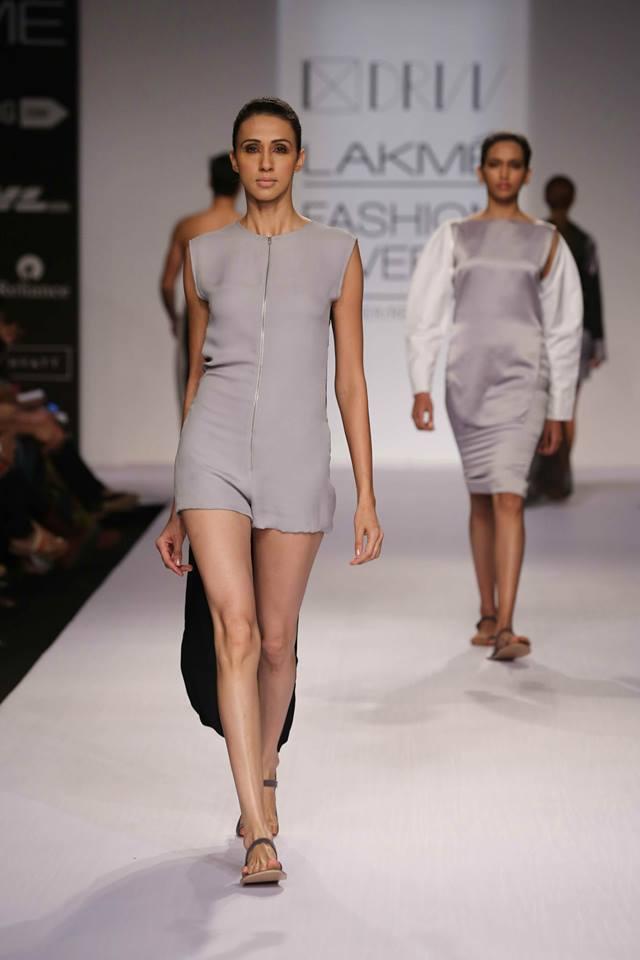 DRVV at Lakme Fashion Week  SR 2014