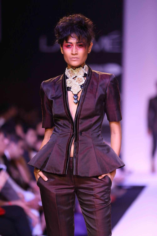 Narendra Kumar at Lakme Fashion Week Summer Resort 2014