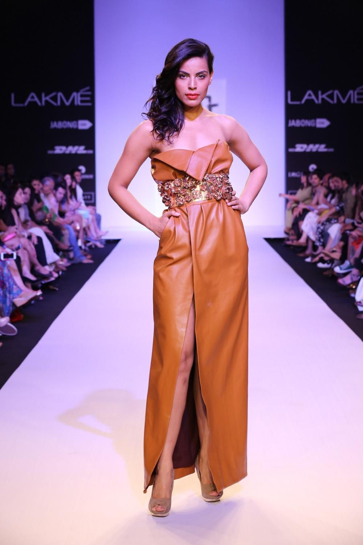 Nikhil Thampi at Lakme Fashion Week Summer Resort 2014