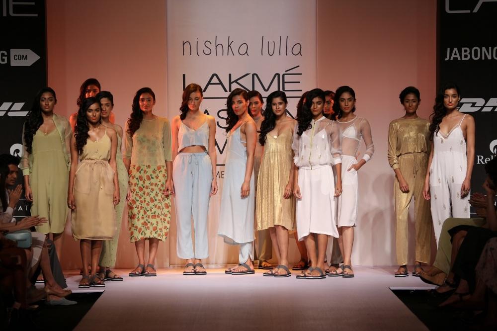 Nishka Lulla at Lakme Fashion Week Summer Resort 2014