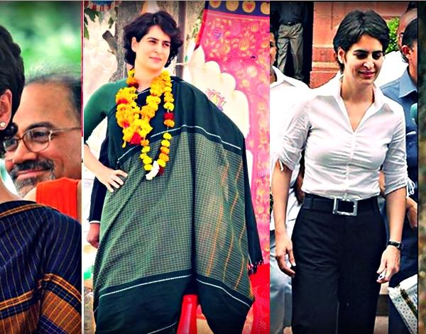 Priyanka Gandhi's Style quotient