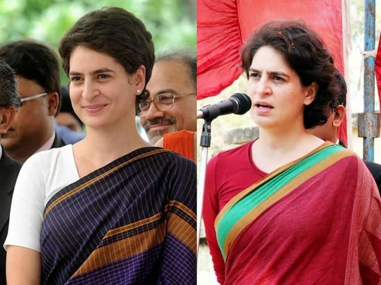 Priyanka Gandhi No Make Up Look