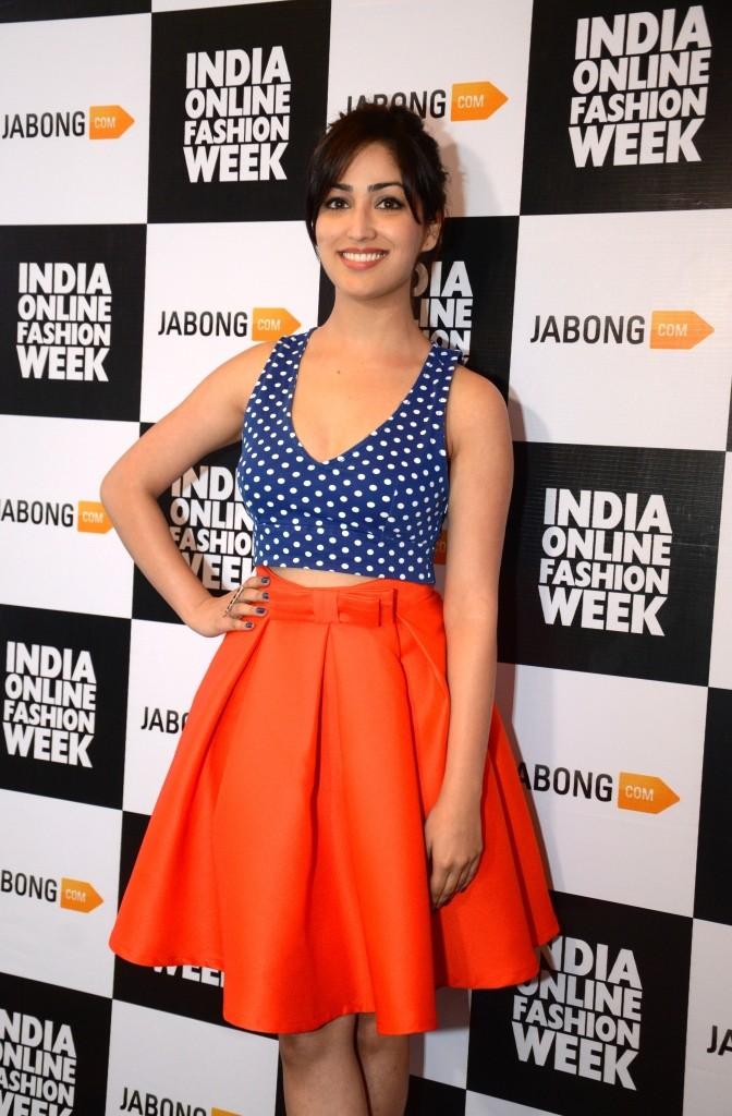 Celebrity mentor for India Online Fashion Week, Yami Gautam