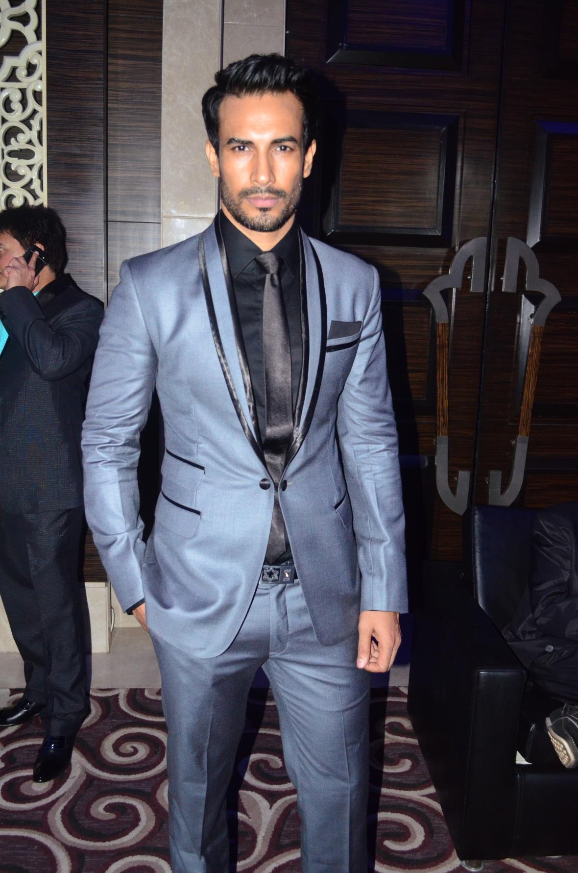 Model Asif Azim at the GQ Best Dressed Men 2014