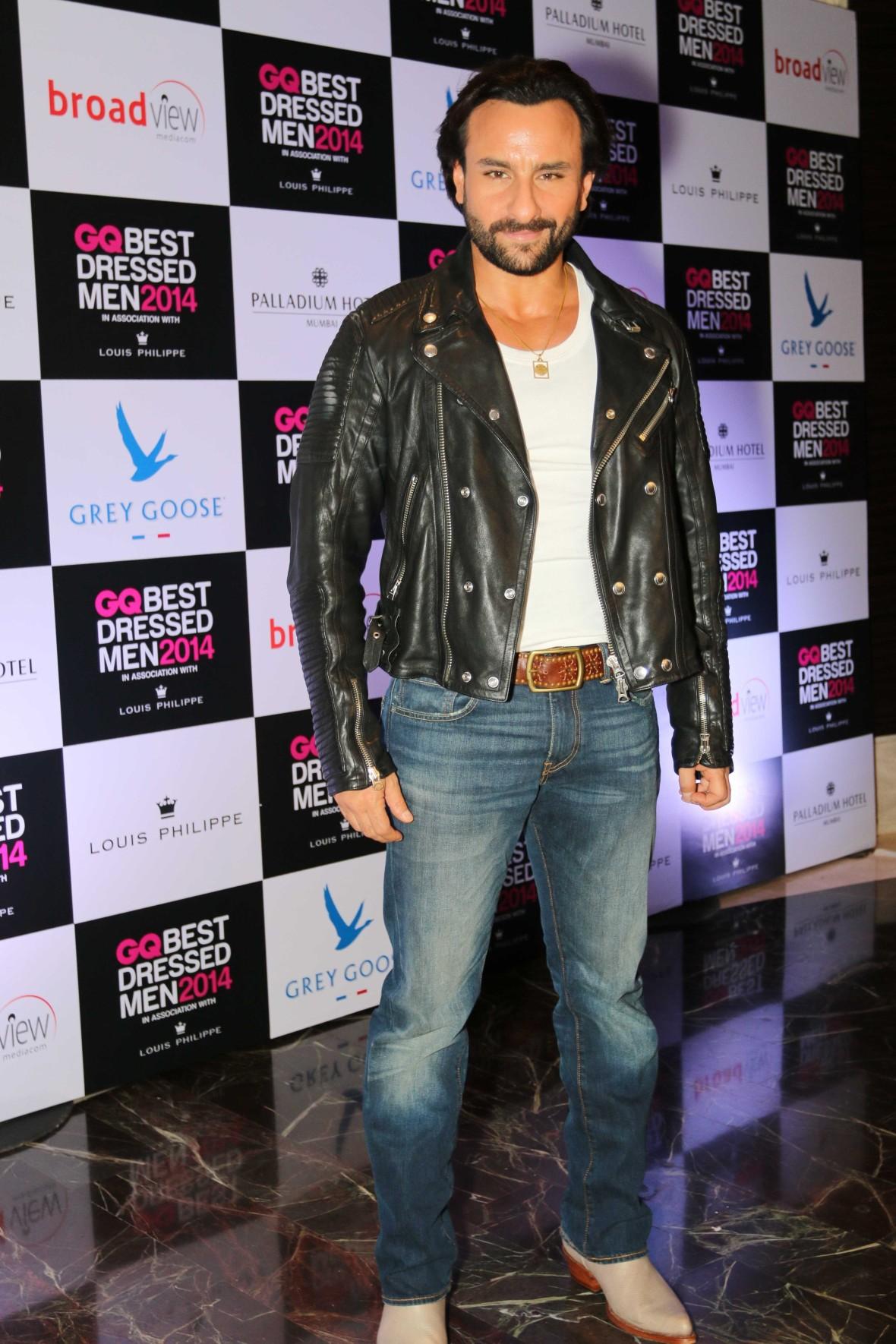 Saif Ali Khan at GQ Best Dressed Men 2014