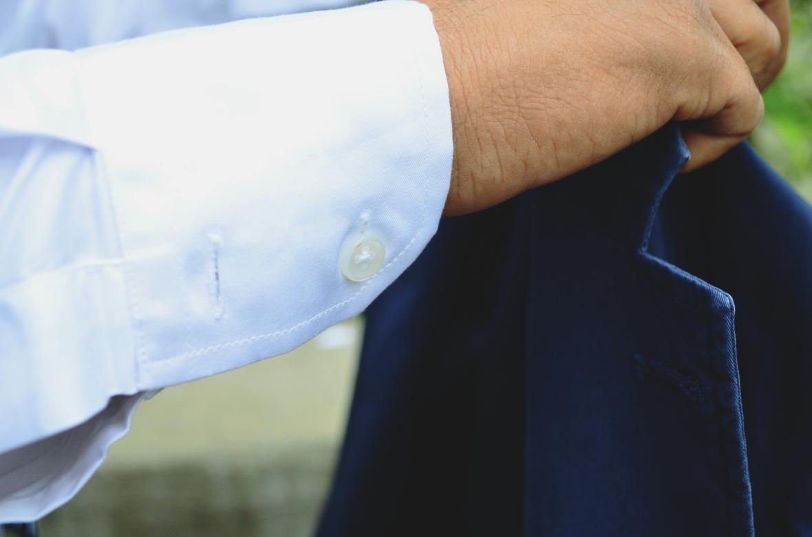 Vitruvien Classic White Shirt