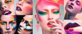 Colour Clashing Make-up Cover