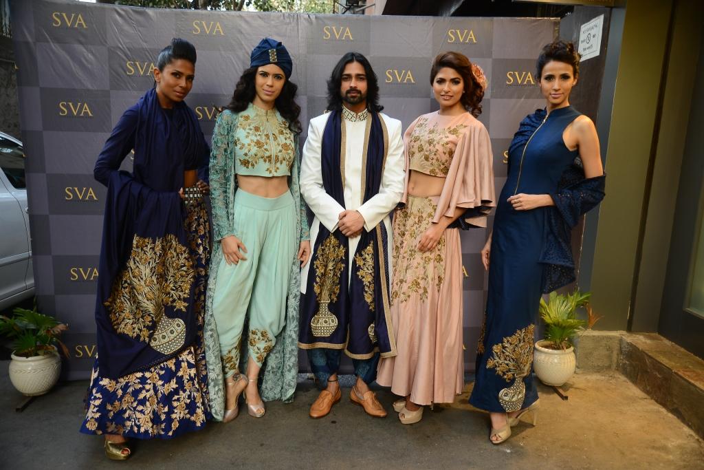 Candice Pinto, Sucheta, Amit ,Parvati ,Alesia in Istanblu by  Sonam and Paras Modi