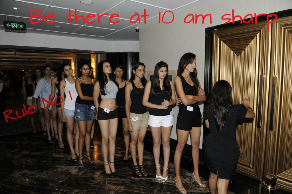 Lakme Fashion Week Model Audition