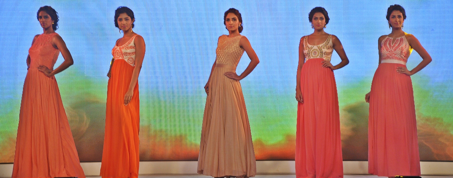 Anita Dongre collection depicting Fire