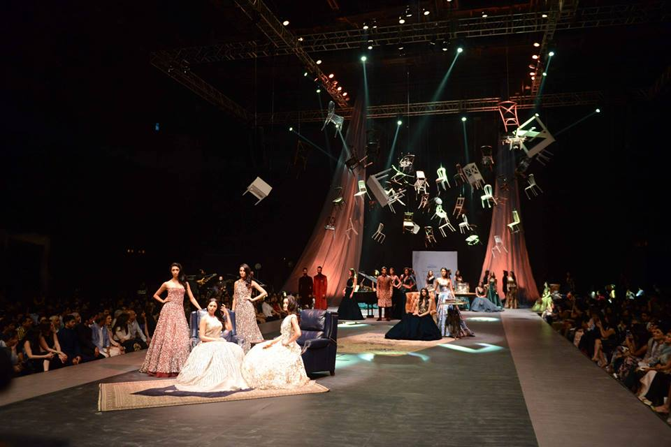 Philips India show at Lakme Fashion Week with Manish Malhotra