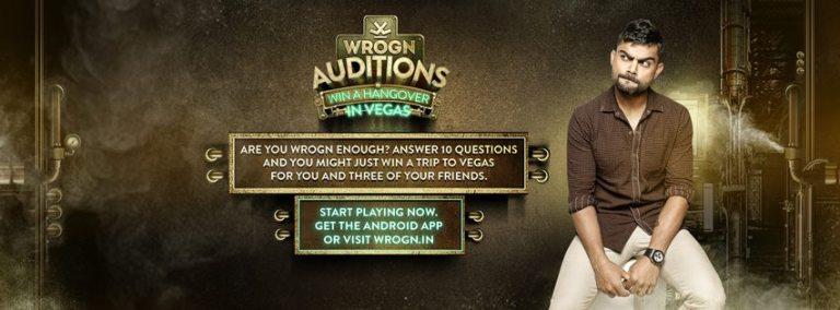 Wrogn Auditions with Virat Kohli