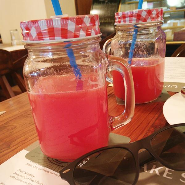2 Fresh Watermelon Juice