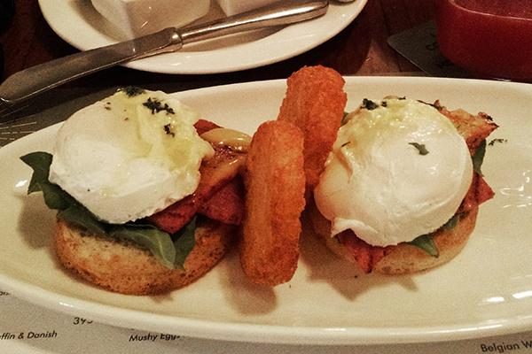3 Eggs Benedict