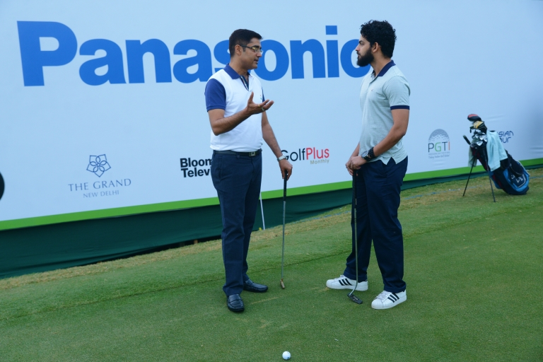 Panasonic India Open Golf Tournament with Manish Sharma and Jeremy Cabral.jpg