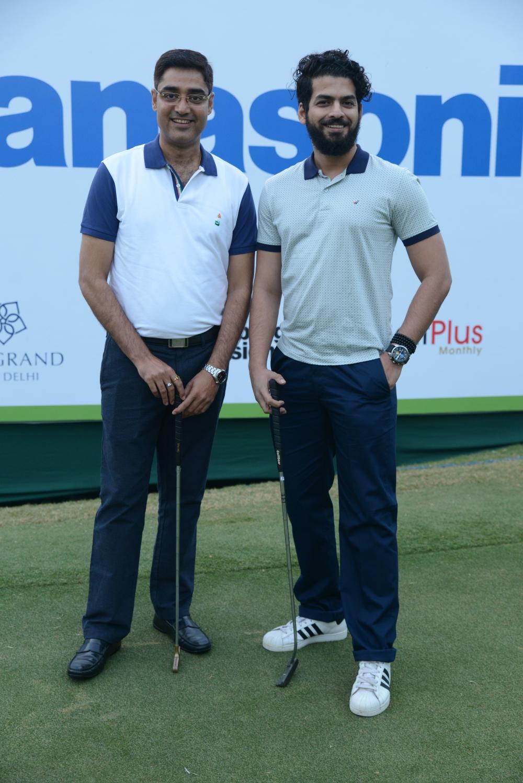 Panasonic India Open Golf Tournament with Manish Sharma.jpg