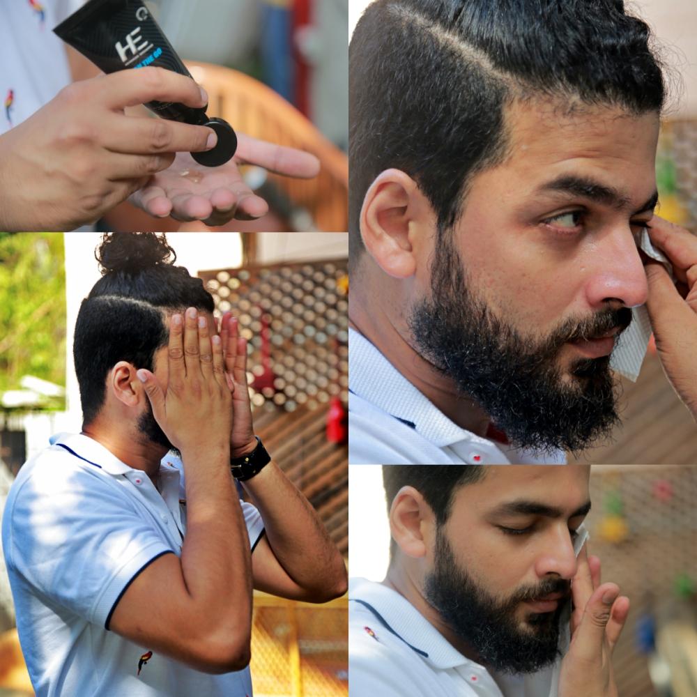 Steps to use the facewash.jpg